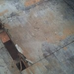 (Another) subfloor hole to patch